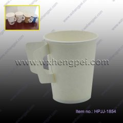 Paper Cup With Handle / Double-wall Cups / Dispensable Cups /