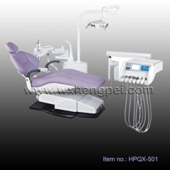 Dental unit, Left & right hand interchangeable delivery syste