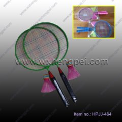 chirdren iron battledore racket chirdren playing racket(HPJJ-