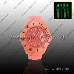 2012 sport silica gel watch(HPJJ-1307)