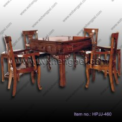 chinese old fashion automatic mahjong table set(HPJJ-460)