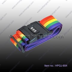 Combination Lock Luggage Strap(HPGJ-854)