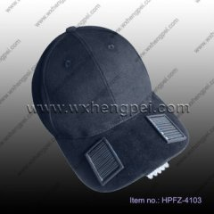 solar LED outdoor cap/outdoor sports fashion style led flash