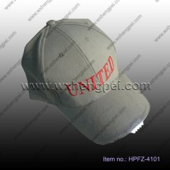 5LED baseball cap/ fishing night cap/ lighting hat(HPFZ-4101)