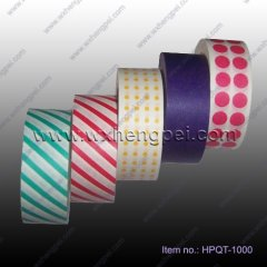 new design of Printed Deco Adhesive Tape(HPQT-1000)