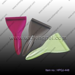 plastic car ice scraper with squeegee/ice breaker/plastic ice