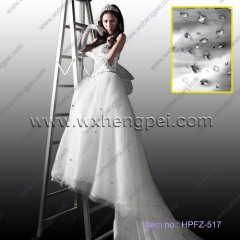 white lace wedding dress(HPFZ-517)