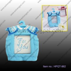 The wedding / birthday gift for baby blue small frame(HPQT-86