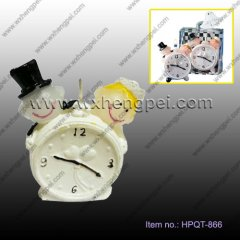Wedding favour lovers clock candles(HPQT-866)