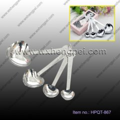Wedding favour love spoon four piece gift box packaging indep