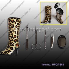 Wedding tall heels nail clippers Beauty Set(HPQT-868)