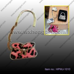 2014 new pink bowknot is concise and easy hanging buckle(HPWJ